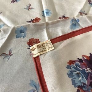 Vintage Accessories - DONATING 3/19 // Vintage Silk Scarf